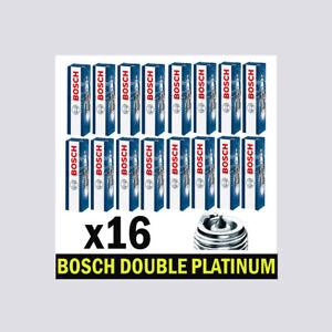 16x Bosch Platinum Spark Plugs for MERCEDES C215 5.0 5.4 CL500 CL55 M113