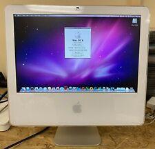 Apple iMac 17-inch Early 2006 1.83GHz Intel Core Duo (MA199LL)