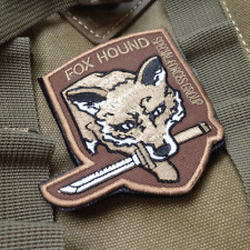 Usa Specia Forces Groups Hook Morale Patches U.S. Fox hound Army Patch