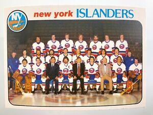 1978 New York Islanders 201 78-79 Team Checklist O-Pee-Chee Hockey Card 0190M