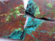 RimRock: Three ARIZONA CHRYSOCOLLA Rough Slabs
