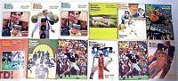 Vintage 1975-79 Beaver Stadium Pictorial Football Super Bowl Penn State 12 Books