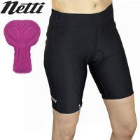 Netti Pronix Womens Cycling Shorts - Black