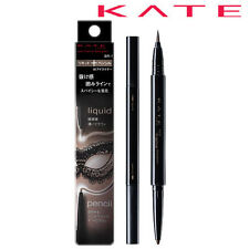 [KANEBO KATE] Eye Frame Designer 2 in 1 Liquid & Pencil Eyeliner BROWN BR-1 NEW