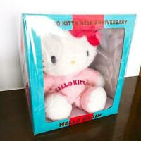 sanrio hello kitty stuffed toy 45th anniversary HELLO AGAIN not for sale