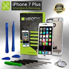 Display für iPhone 7 PLUS mit RETINA LCD Glas VORMONTIERT Komplett Front WEISS !