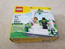 LEGO 40165 MINIFIGURE WEDDING FAVOR SET CAKE TOPPER Brand New Sealed