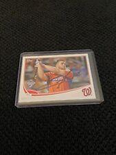 Bryce Harper Hand Signed Washington Nationals Baseball Card