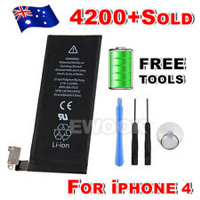 OZ Capacity High Replacement Battery 1420mAh For Apple iPhone 4 4G Tools