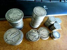 Really? $34.80 In Standing Liberty & Barber Dimes Quarters & Half Dollars