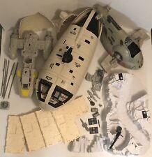 Original Star Wars Vehicles Lot Rebel Transport Mail Away Arena Slave 1 Y-wing +