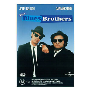 The Blues Brothers DVD Brand New Region 4 Aust - John Belushi, Dan Aykroyd