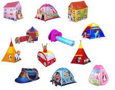 Tenda gioco bambini casa giardino tende giochi bimbi con tunnel casetta pop up