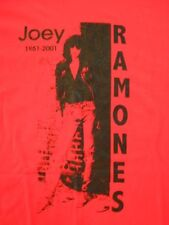 THE RAMONES original JOEY RAMONE MEMORIAL T-SHIRT never worn  size XL