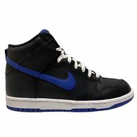 2012 Nike Dunk High Black / Old Royal Blue J Pack Size 8.5 - VTG SB 317982 046