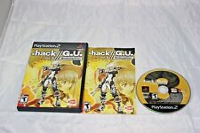 . dot hack G.U. Volume 3 Redemption PlayStation 2 PS2 Complete