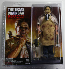 "NECA LEATHERFACE CLOTHED Texas Chainsaw Massacre RETRO 8"" INCH 2014 FIGURE"