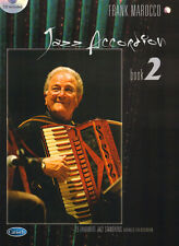 Jazz Accordion Book Band 2 Frank Marocco Songbook Noten für Akkordeon mit CD