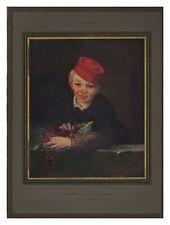 1932 DOCUMENT (ref Lli NOEL)  MANET L'ENFANT AUX CERISES 1page
