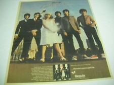 Blondie .because one way or another. P. Lines original 1979 R.S.M. Promo Ad