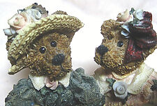 "Boyds Bears & Freinds Collect. ""Emma & Bailey Afternoon Tea"", Style #2277, 1995"