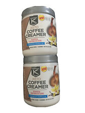 2 Ketologic Keto Coffee Creamer W MCT Oil Powder French Vanilla 15 servings