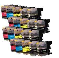 20 Printer Cartridges for Brother MFC-470DW DCP-J132W DCP-J152W MFC-J6520DW