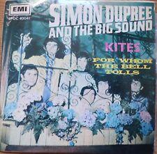 "simon dupree & the big sound- kites.-1967 pop 7"" EP p/s-israeli 1 st. press NM"