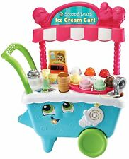 "LeapFrog 600703 ""Scoop/Learn Ice Cream Cart"" Toy Set"