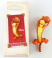 Hallmark Christmas Ornament Disney Winnie The Pooh THE WINNING BOUNCE 2004