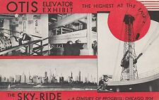 LAM(A) Chicago World's Fair 1933 - The Sky Ride - Four Views