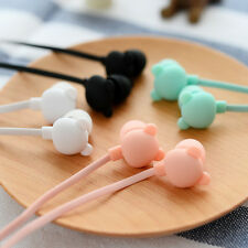 Hot Cute Bear Earbuds In-Ear 3.5mm Earphone Headset with Mic for iPhone Sumsang