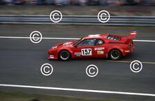 Calderari & Pallavicini & Vanoli BMW M1 Le Mans 1985 Photograph