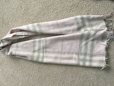 Authentic Pink Burberry Cashmere Scarf
