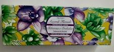 Luxury Accordi Floreali 3 x 100g Soap Tuberose & Orchid Scent Paraben Free