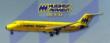 Hughes Airwest DC-9 Handmade Photo Magnet (PMT1679)