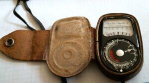 Weston Master II Universal Exposure Meter England vintage old S141/735 leather