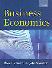 USED (GD) Business Economics by Roger Perman