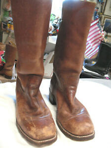 L@@K! Awesome 2000s Classic Frye Women's Campus Boots Style 2955 W Size 10D VG+
