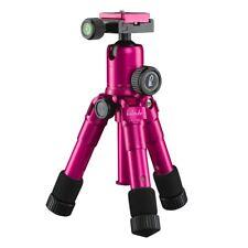 mantona kaleido mini Fotostativ, Tischstativ, Travelstativ  lady pink metallic