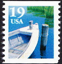 US - 1991- 19 Cents Fishing Boat & Dock Coil Issue # 2529 - Mint NH & Very Fine
