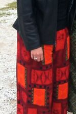 African pants, adjustable sizes 6 - 8 - 10 - 12, reds, wrap around, One Size