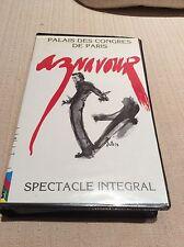 CHARLES AZNAVOUR VHS CONCERTO PALAIS DE CONGRES DE PARIS PARIGI