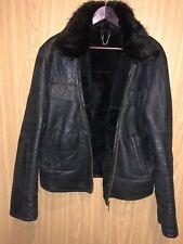 Men Warm Winter Jacket. Black