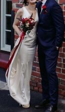 Noel and Jean By Katie May Wedding Dress - Size 6-8 - Ivory