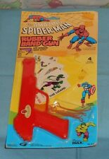vintage Gordy THE AMAZING SPIDER-MAN RUBBER BAND GUN MOC rack toy
