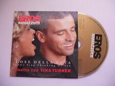 Eros Ramazotti (duetto con Tina Turner) / Cose della vita - cd single