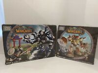 Lot of 2 World of Warcraft Mega bloks Sha of Anger and Goblin shredder