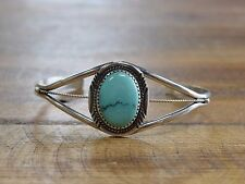 Turquoise Bracelet Exquisite Sterling Silver