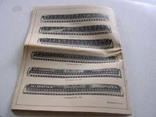 "The Art of Playing Hohner Chromatic Harmonicas 40 Page 9"" x 12"" Booklet c. 1937"